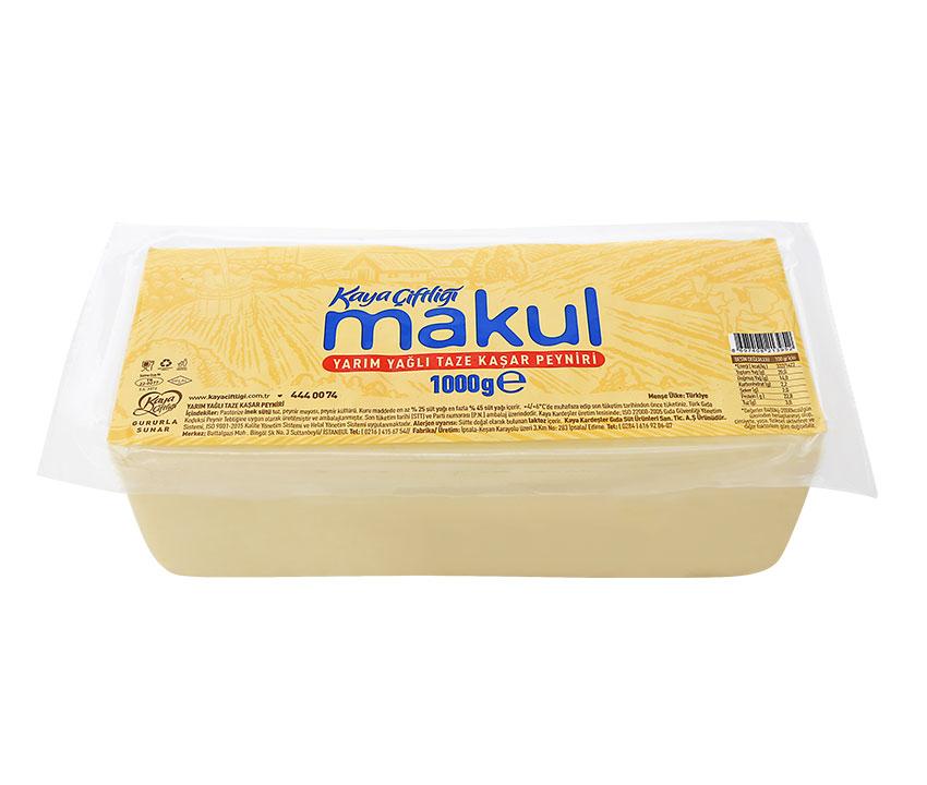 Makul Kaşar Peynir 1000gr