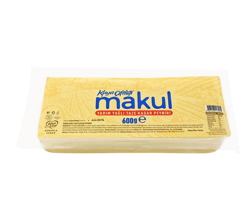 Makul Kaşar Peynir 600gr